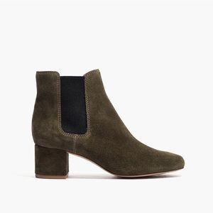 Madewell The Walker Suede Chelsea Boots